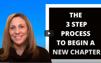 The 3 Step Process To Begin A New Chapter